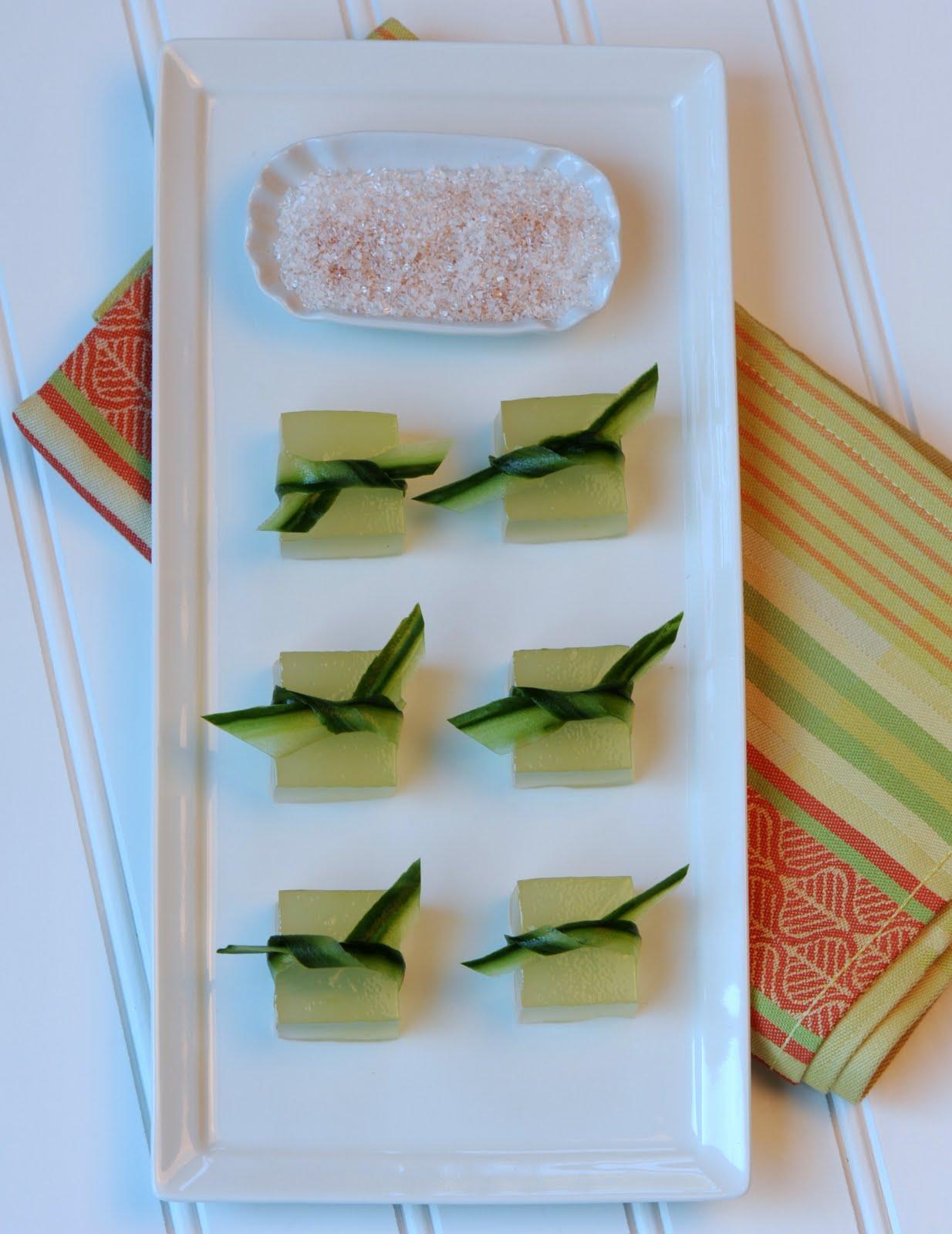Jelly Shot Recipes | Jelly Shot Test Kitchen: Cucumber-Lime Margarita ...