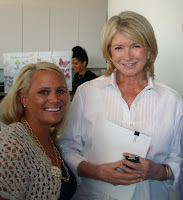 Martha Stewart & I!