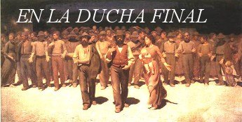 En la ducha final