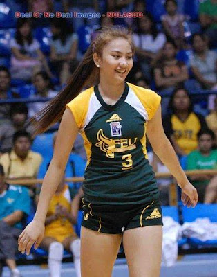Former MVP of UAAP WOMEN'S Volleyball