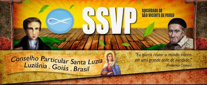 SSVP - CP Santa Luzia de Luziânia - Go