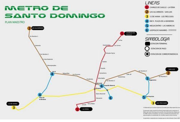 Metro trujillo la libertad rep blica dominicana ya Metro santo domingo madrid