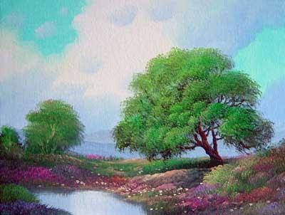 Natural Landscape Painting, Landscape Image, Landscape Pictures