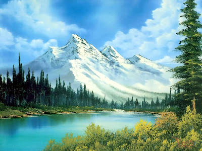 /bob ross landscape painting