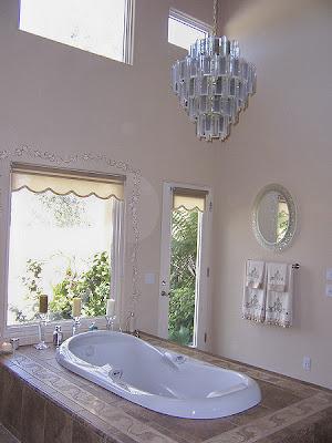 drawing houses tub