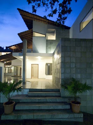 Complete Home Design, Fernandes House in Bangalore, India by Khosla Associates 04