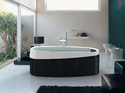 Contemporary-bathtubs-asian-design-ideas