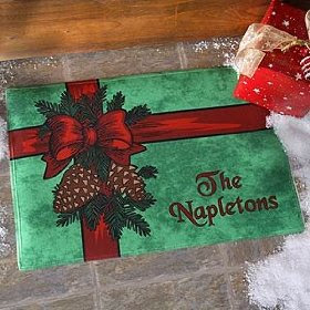 christmas-home-decorating-deck-the-halls-personalized-christmas-doormat