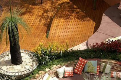 Radial Timbers Garden Design Ideas