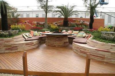 Radial Timbers Design Garden