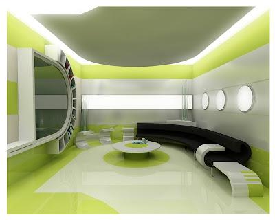 Green Interior Design Decorating Ideas