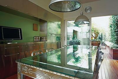 Modern Italian Styles Dinning Room Interior Design