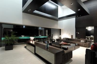 Luxury Landscape Architecture Design House Living Room