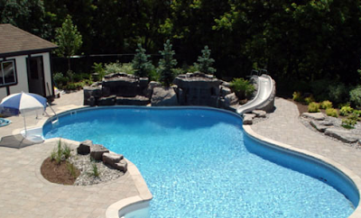 Landscape Design with Pools in Hamilton