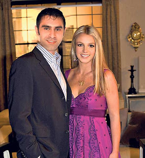 Britney spears with an Indian choreographer Sandip soparrkar