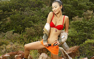 AMERICAN-CHINESE ACTRESS BAI LING HQ PICTURE