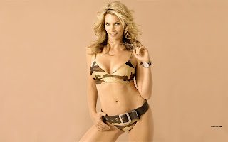 Canadian Fashion Model Natasha Henstridge