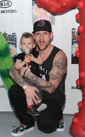 Famous Celebrities with Kids at 'Yo Gabba Gabba Live!' Event