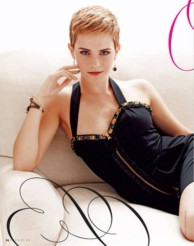Emma Watson Elle Girl Russia December 2010 Photo Shoot