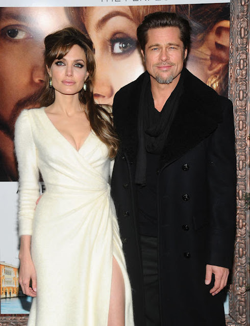 Angelina Jolie and Brad Pitt at The Tourist NY Premiere
