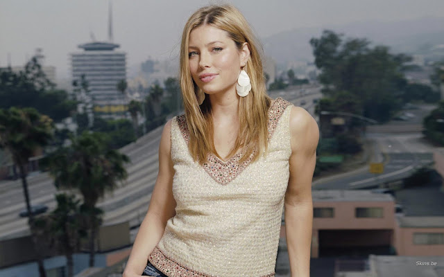 Sexy Jessica Biel Hottest HQ Wallpapers