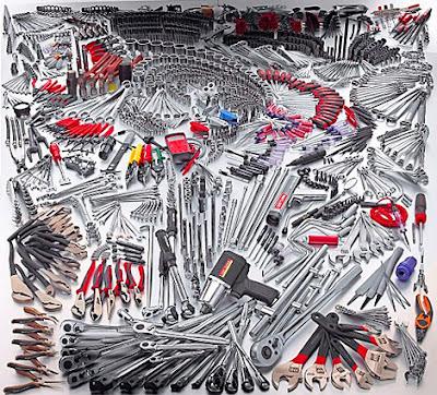 Quais sao os tipos de ferramentas manuais