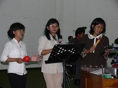 Diklat  Guru musik SMA di Yogya