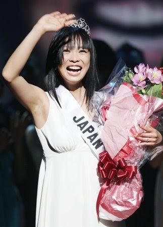 JAPANESE-SEXYGIRLS: Hiroko Mima : Miss Universe Japan 2008