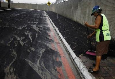 Foto Ekslusif Bencana Gunung Meletus di Ekuador dan  Guatemala