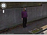 Manusia Kepala Kuda Tertangkap Kamera Google
