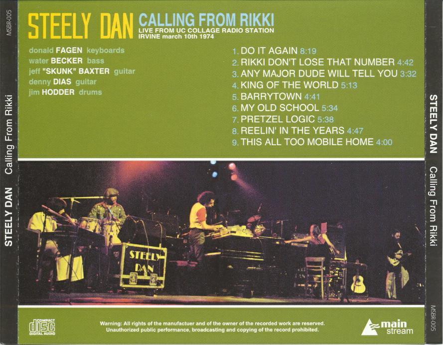Ce que vous écoutez  là tout de suite - Page 40 Steely+03-10-1974+Back