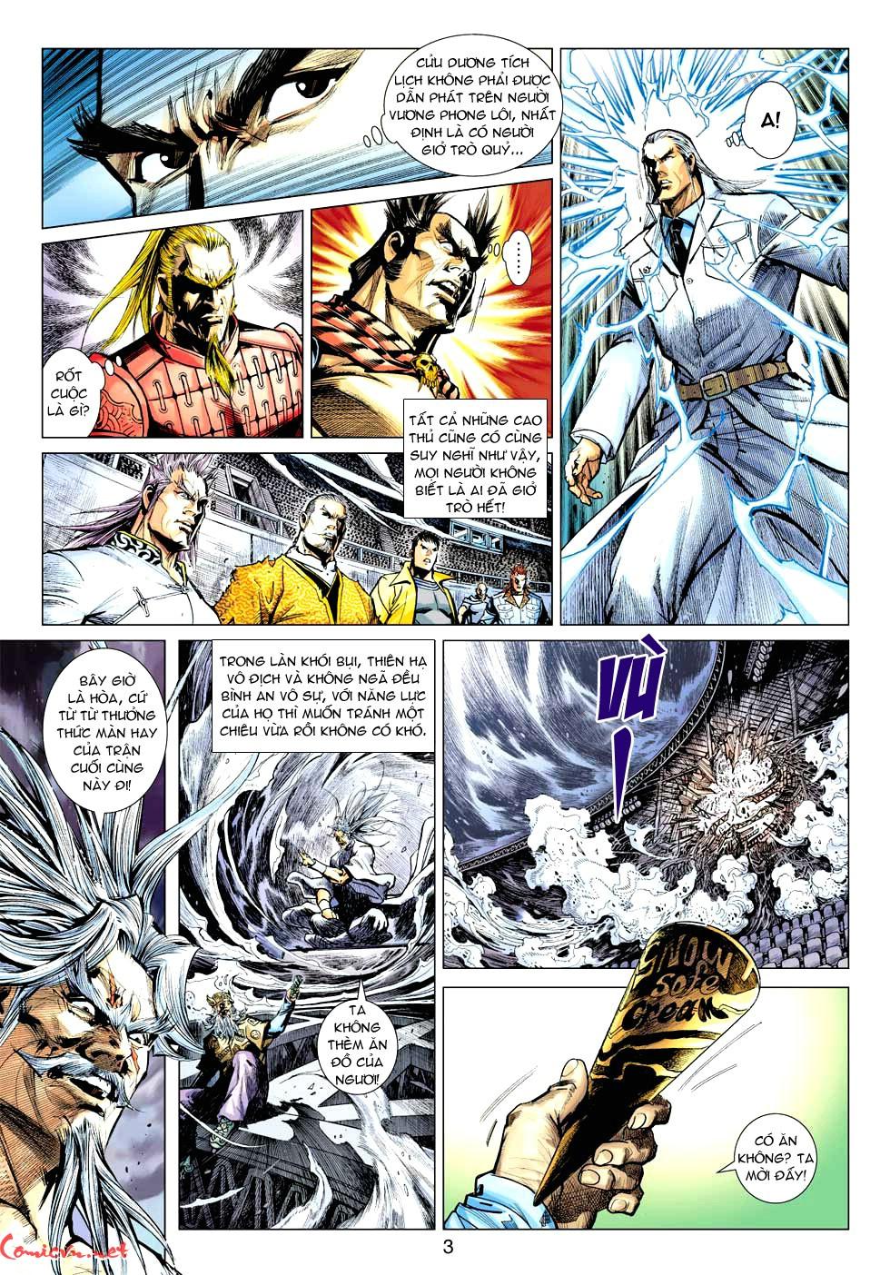 Vương Phong Lôi 1 chap 32 - Trang 3