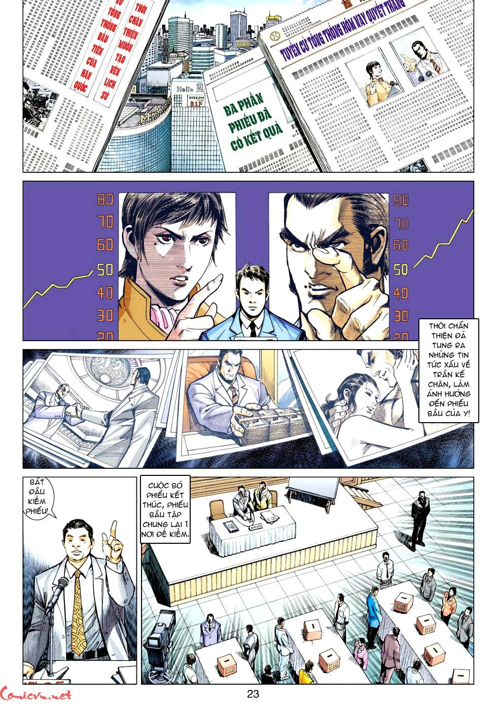 Vương Phong Lôi 1 chap 32 - Trang 22