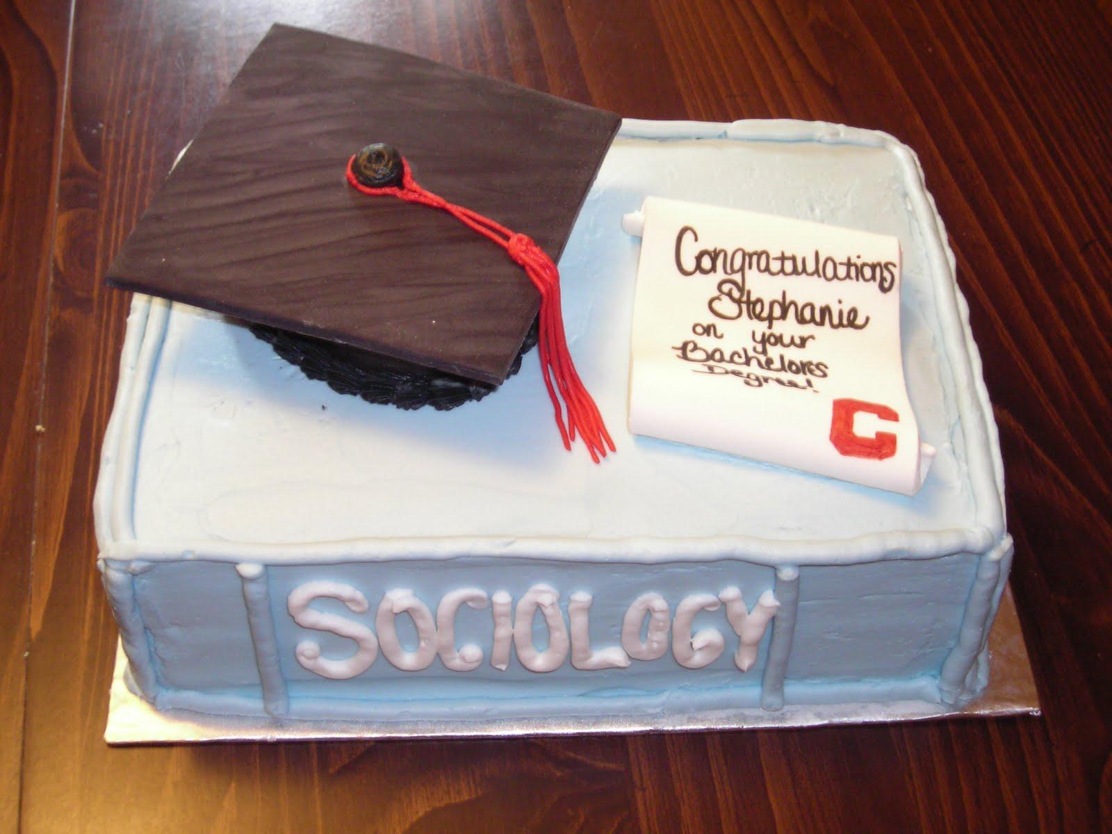 College Graduation Cake Images : A Quiet Strength: College Graduation Cake