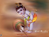 gyerek Krishna
