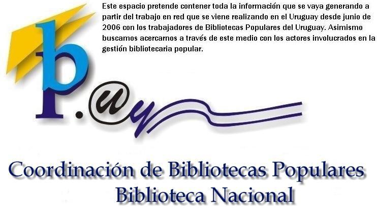 Bibliotecas Populares del Uruguay