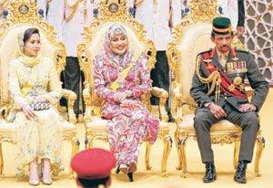 Azrinaz Mazhar Dicerai Sultan Brunei - biar betul nie