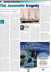 "Part I of ""The Jeannette Tragedy"" published in ""The Irish Echo"" Newspaper July 9th 2008 in NYC."