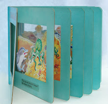 The Playful Dolphin acetate book prototype, Victoria House Publishing