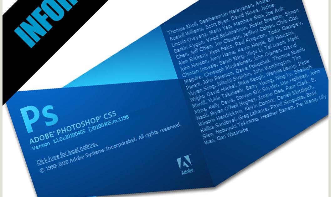 Welcome Splash dan Tampilan Ruang Kerja Adobe Photoshop