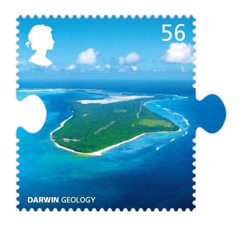 darwin atoll stamp