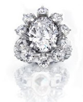 Most Expensive Engagement Ring - Internally Flawless Diamond Ring