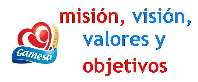 gamesa: misión, visión, valores y objetivos