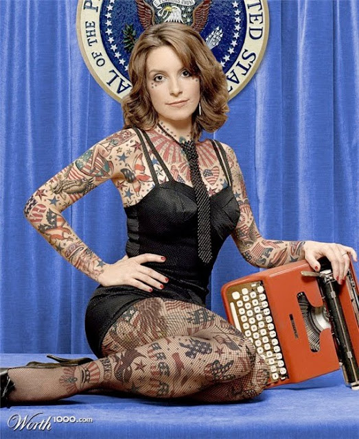 tina fey tattoo