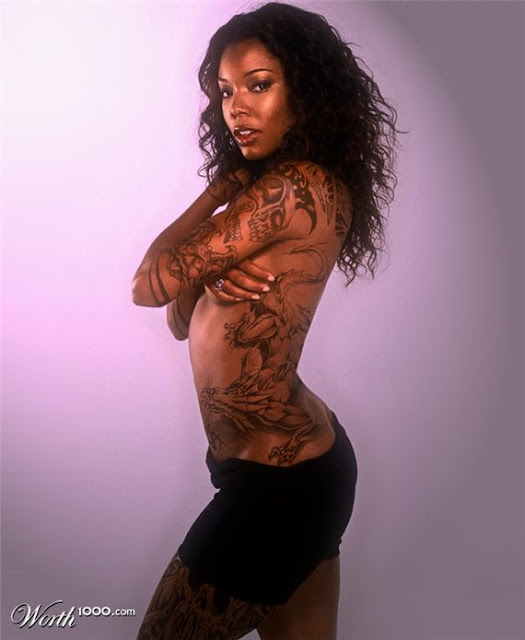 gabrielle union tattoo