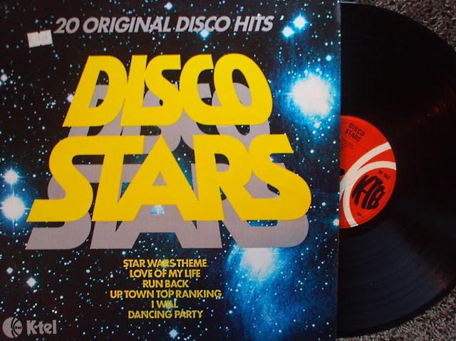 Disco Stars ~ 20 Original Disco Hits - Various on K-Tel 1978
