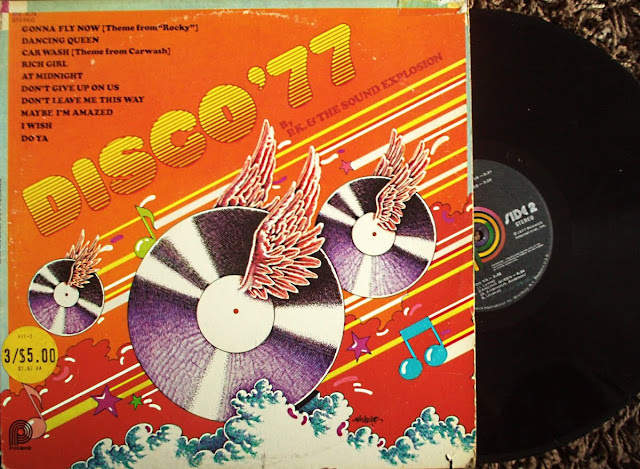 P.K. & The Sound Explosion - Disco '77 Various on Pickwick 1977