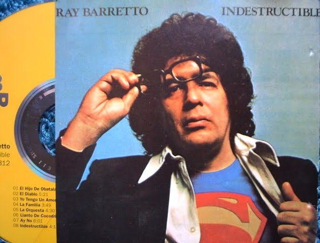 Cover Album of ВЎ(Re-Up) Ray Barretto - Indestructible  on Fania / Third 3RD  ~ 1973 / 1991!