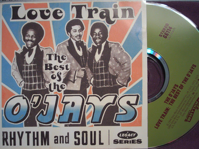 Cover Album of The O'Jays - Love Train / Rhythm and Soul '72 - '75 on Legacy 1994