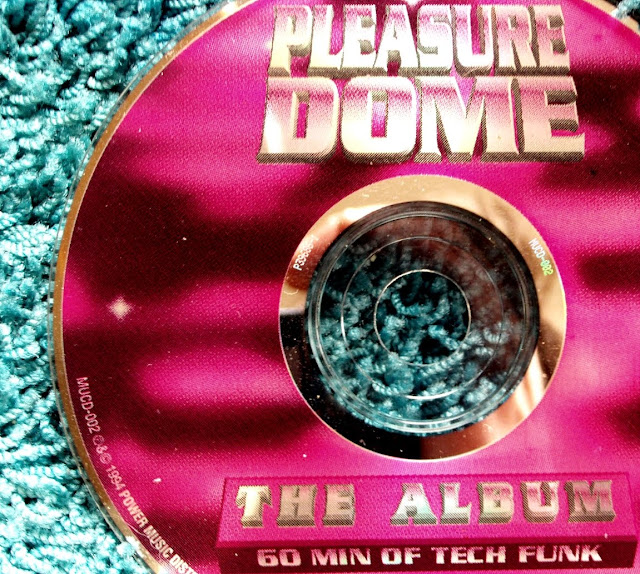 DJ Duke - Pleasure Dome ~ The Album / 60 Min Of Tech Funk on Power Music Records 1994